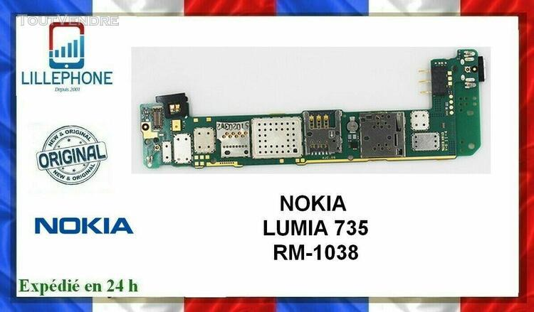 carte mÈre pour nokia lumia 735 (rm-1038) fonctionnelle