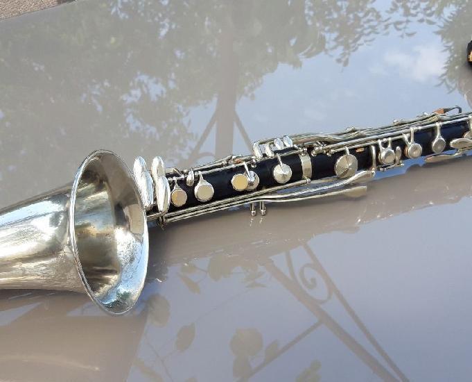 clarinette basse selmer bb système boehm