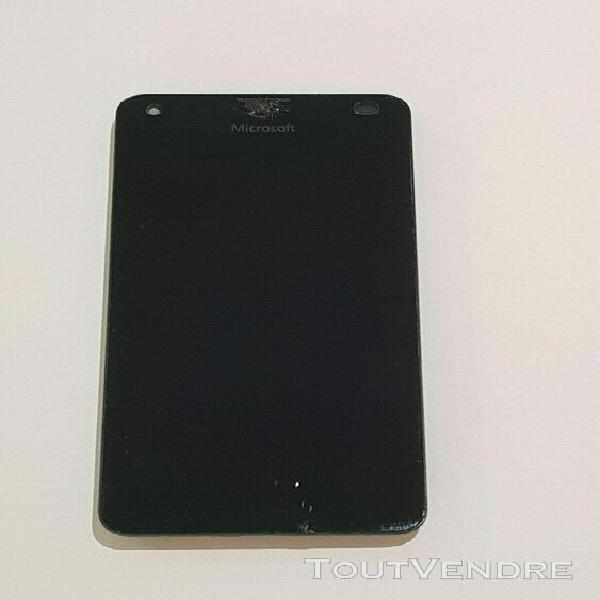 ecran lcd nokia lumia 550 rm-1127 original avec vitre