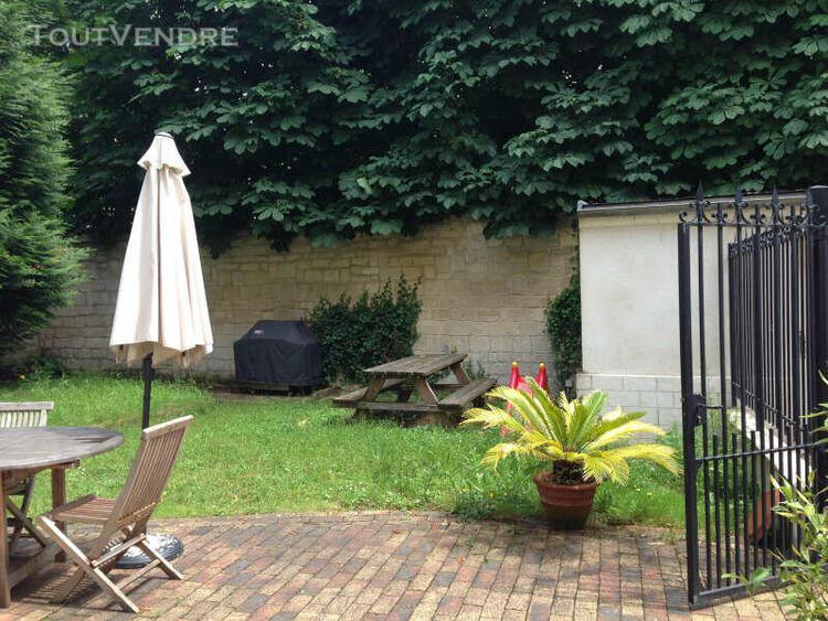 """Exceptionnel appartement """"une maison"""" 4 pièces, jardin"""