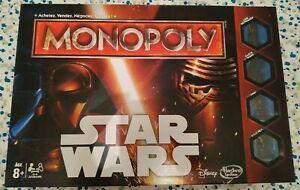 Jeu société monopoly star wars complet