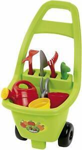 Jouets ecoiffier -479 - chariot de jardin et ses outils –