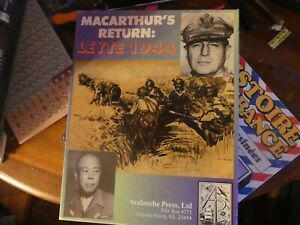 Macarthur's return leyte 1944 - avalanche press war