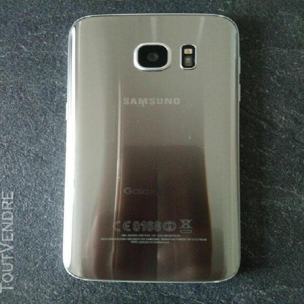 Samsung s7 couleur argent 32gb android débloqué