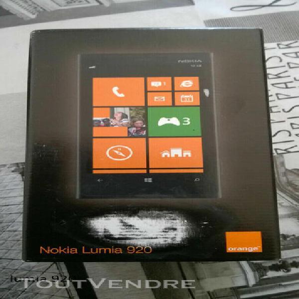 Telephone portable nokia lumia 920 remis a neuf