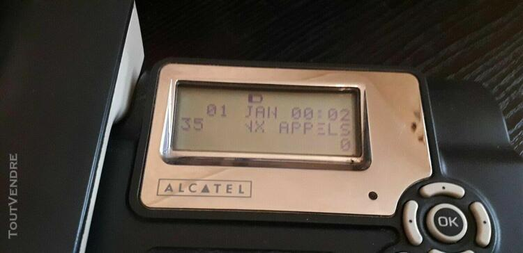 Téléphone filaire alcatel temporis 46 avec messagerie