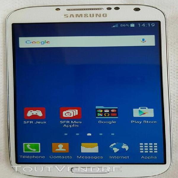 Téléphone portable samsung galaxy s4 blanc