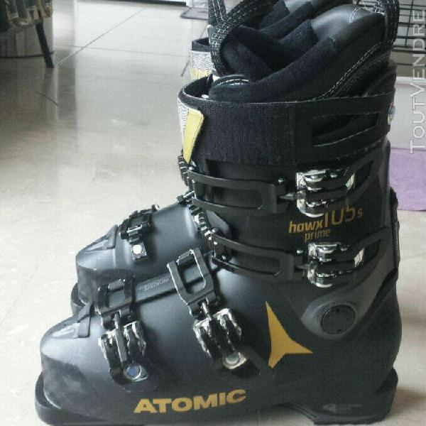 Chaussures de ski femme - atomix hawk prime 105s - taille 2