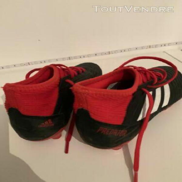 Crampons de foot garçon adidas predator pointure 35 envoi