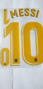 Flocage fc barcelone player home name set #10 messi jersey +