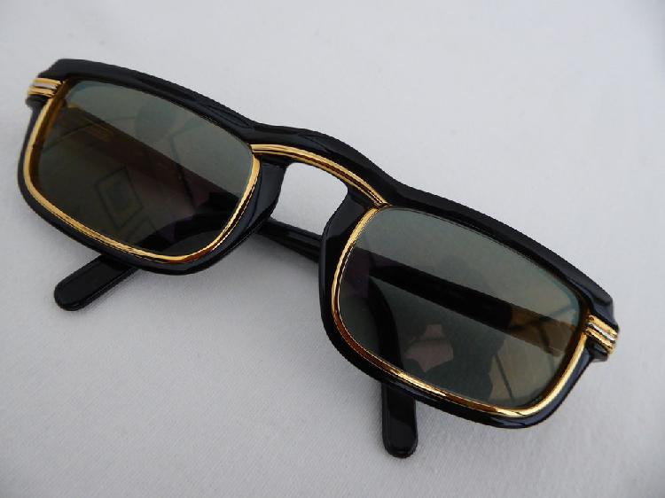 lunette vintage cartier vertigo noir/or occasion, lyon