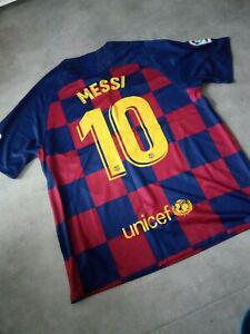 maillot barcelone messi xl 2019 2020 noel