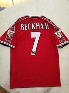 maillot manchester united beckham