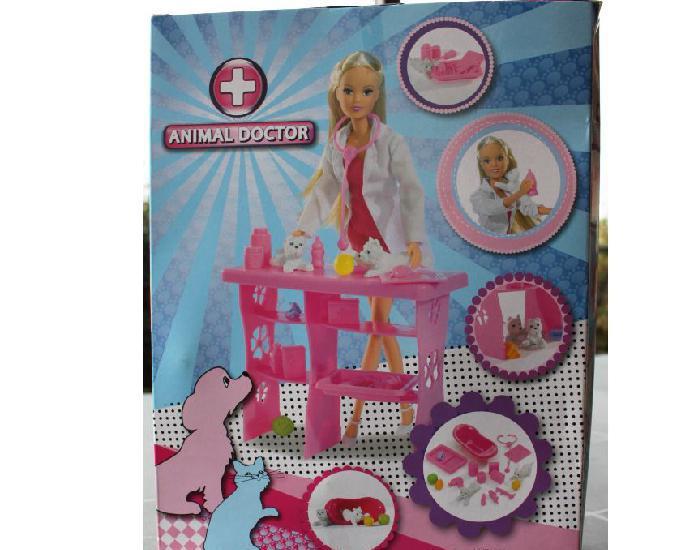 poupée steffi animal doctor neuf!!!