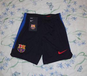 short entraînement barça nike junior xs neuf