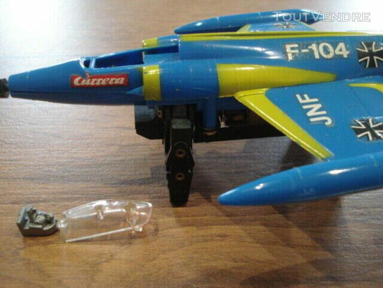 Bon etat / rare starfighter carrera jet / 73050 / vintage /