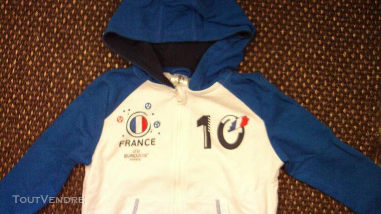 Collector maillot enfant equipe de france football euros 201