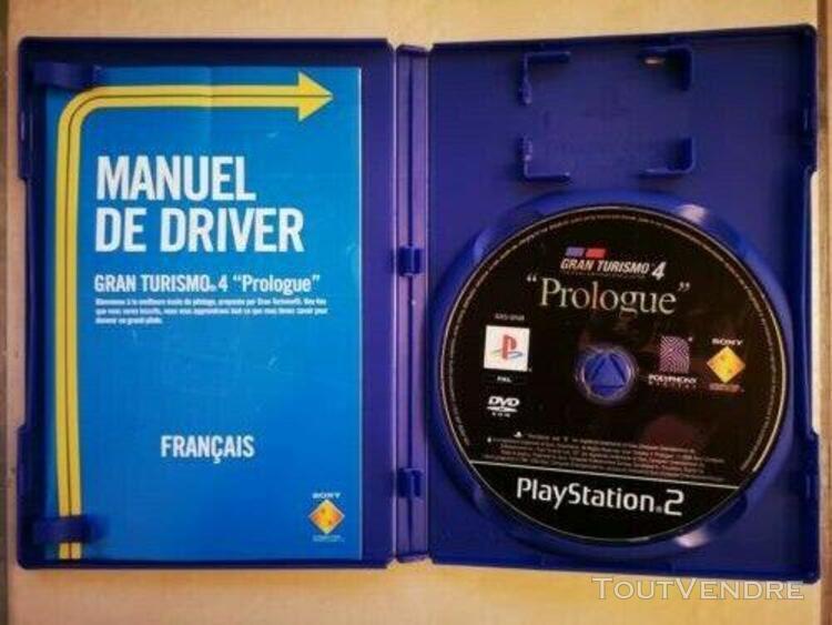 Gran turismo 4: prologue - jeu course playstation ps2