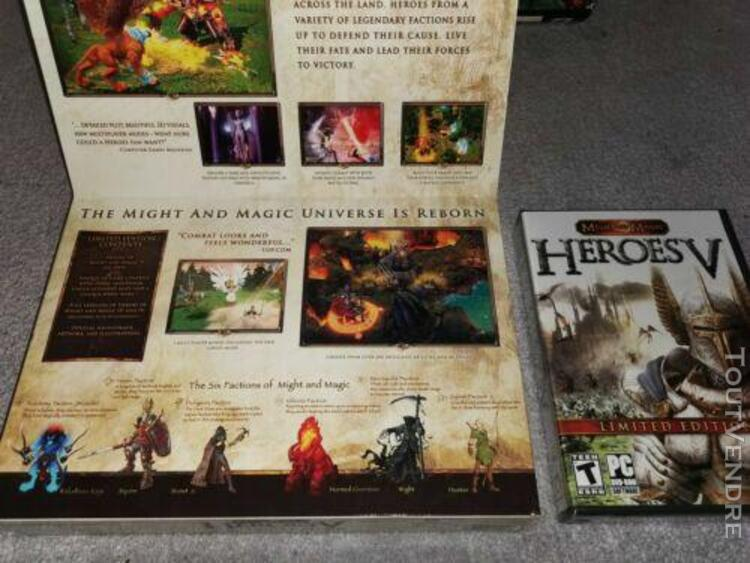 Heroes of might and magic v - collector's edition - game ne
