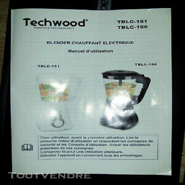 blender chauffant techwood tblc-166