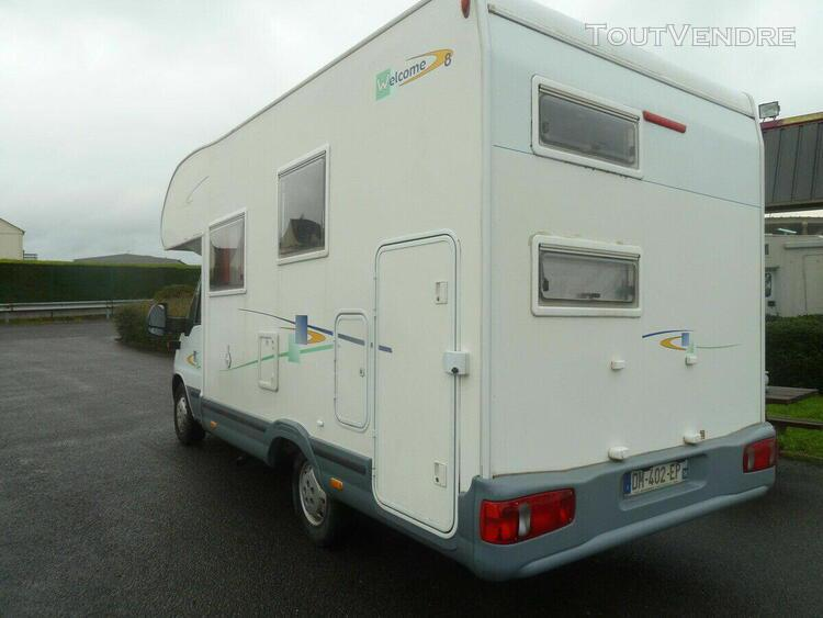 Camping-car chausson welcom8