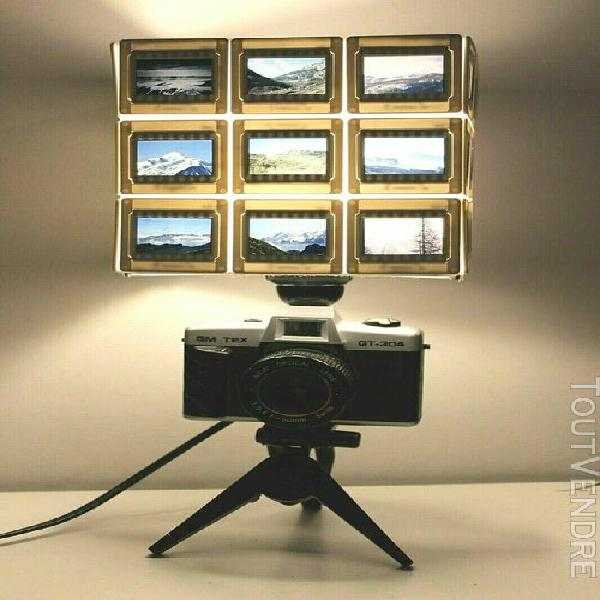 Lampe appareil photo diapositives pour bureau - piece unique