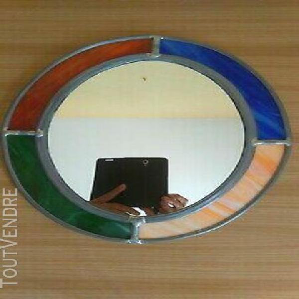 miroir vitrail - neuf