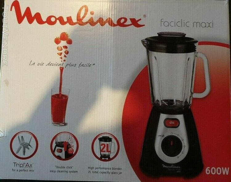 moulinex lm233a10 - blender faciclic maxi - État quasi