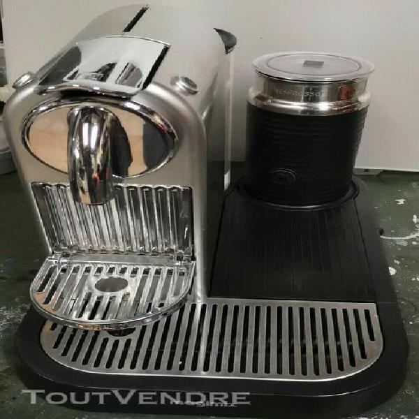 nespresso magimix citiz & milk (aeroccino) m190 acier - unit