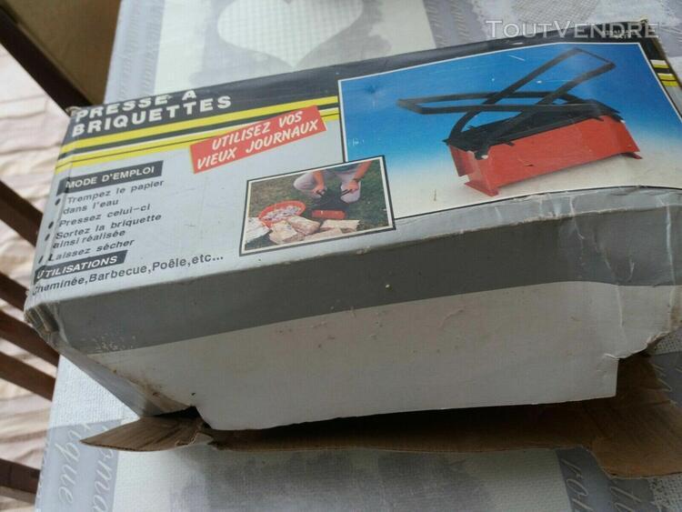 presse à briquettes pour cartons, papiers etc