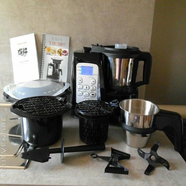 Thermogourmet robot cuiseur multifonction accessoires noir i