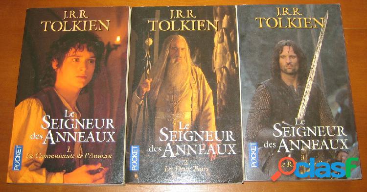 Le seigneur des anneaux (3 tomes), j.r.r. tolkien