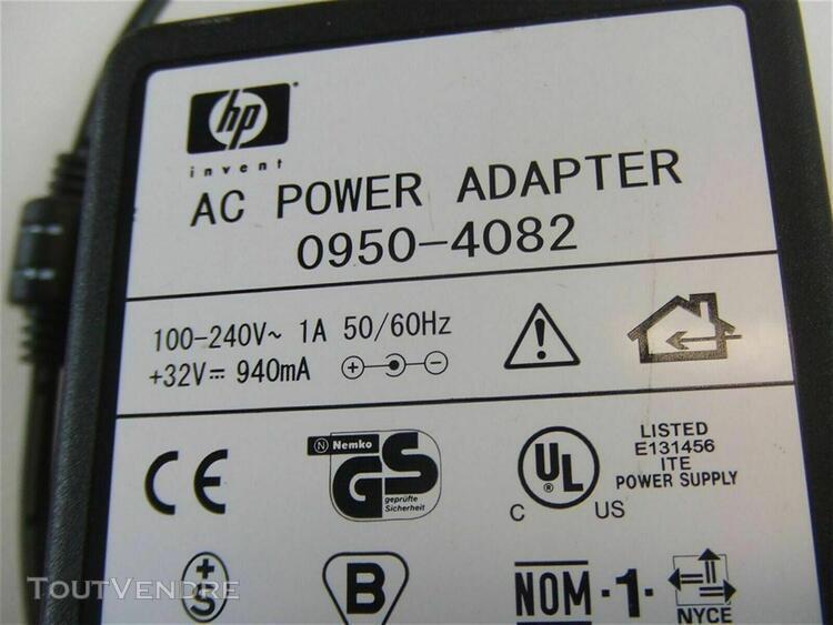 Alimentation-chargeur d'imprimante hewlett packard –