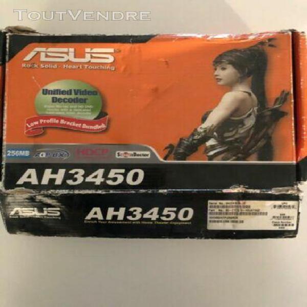 asus ah3450 / htp / 256m/a ati radeon hd3450 256mb agp pc vi