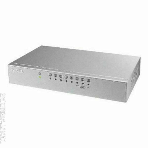 Commutateur réseau de bureau zyxel es-108av3-eu0101f 200