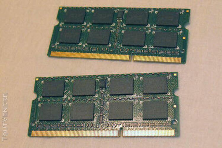 Crucial – 8 gb – ram 2 x 4gb ddr3l 1600 mhz – sodimm