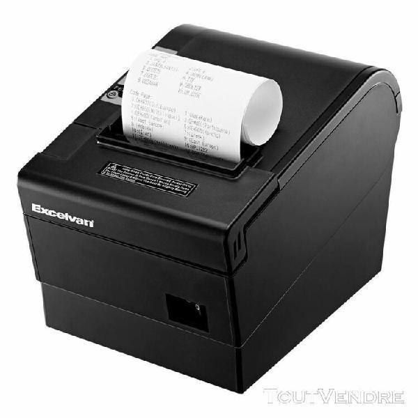excelvan 80 mm à recu thermique 220 imprimante mm / s &