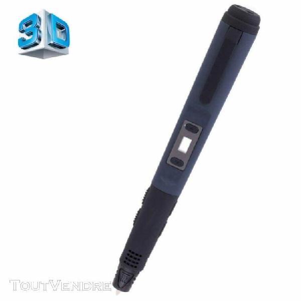 f10 gen 3ème stylo d'impression 3d avec écran lcd (noir)