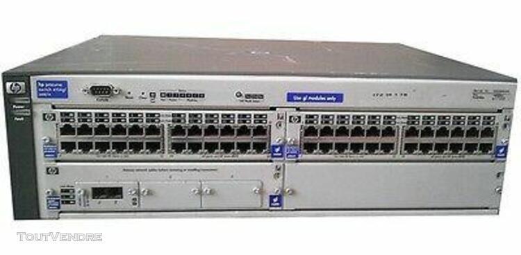 Hp procurve switch 4104 gl - - 92 ports