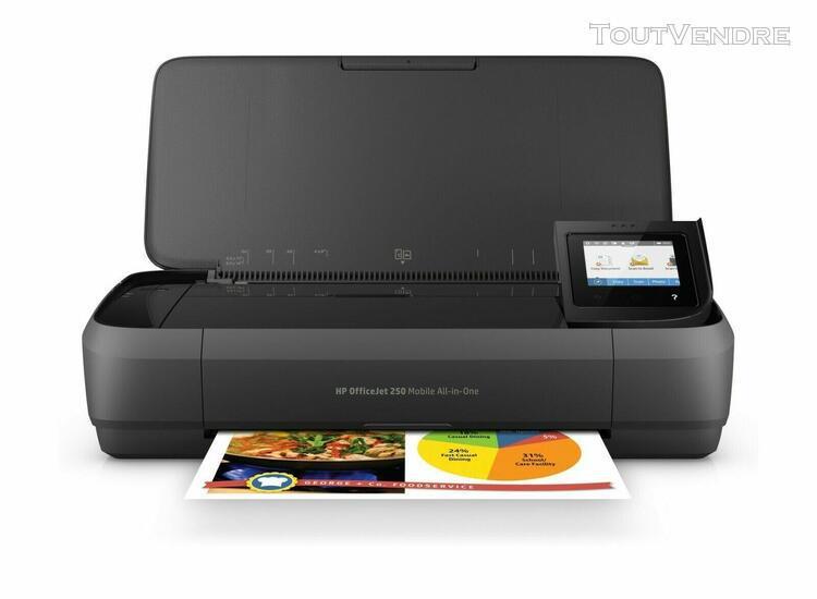 imprimante hp officejet 250 mobile all-in-one tout-en-un por