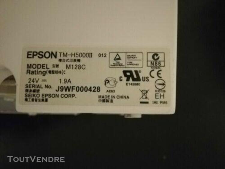 Imprimante thermique epson tm-h5000ii m128c