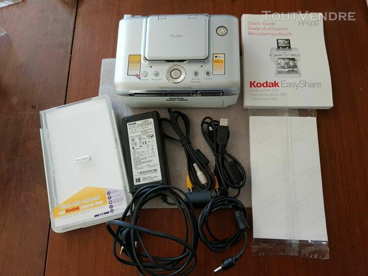 kodak easyshare photo printer 500 avec son chargeur + 1 paqu