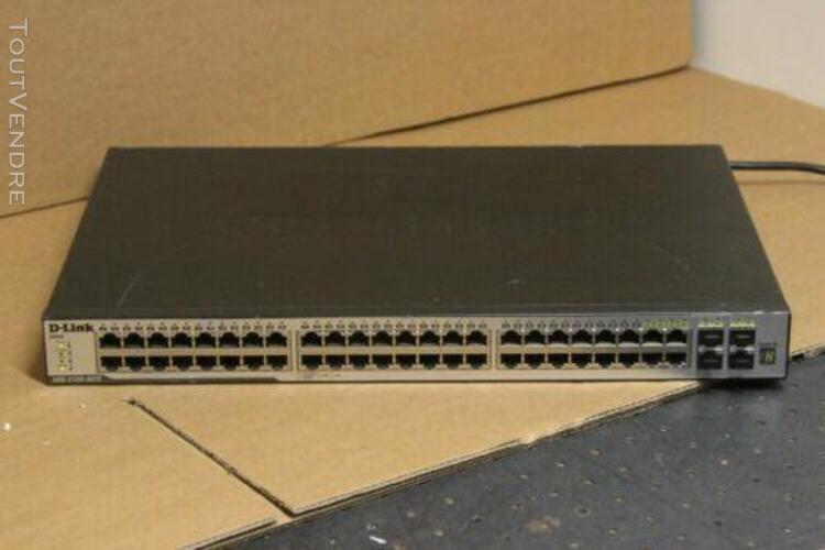 Occasion en bon etat: switch gigabits d-link xstack dgs-312