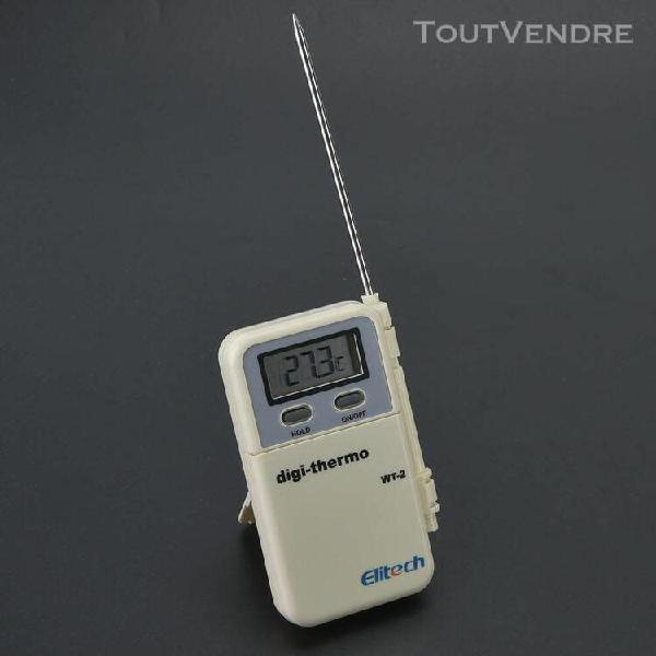 Outil de mesure de la température des aliments pour