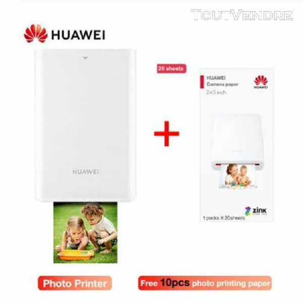 photo de poche originale huawei zink portable imprimante ar