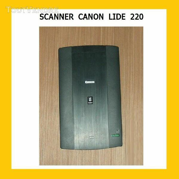 scanner canon  lide 220  - usb windows