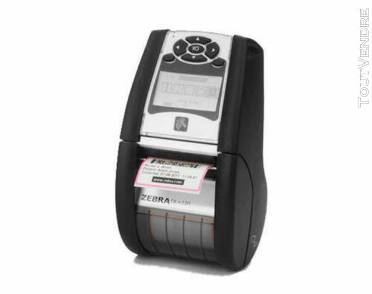 zebra qln220 batterie neuve! imprimante thermique étiquett