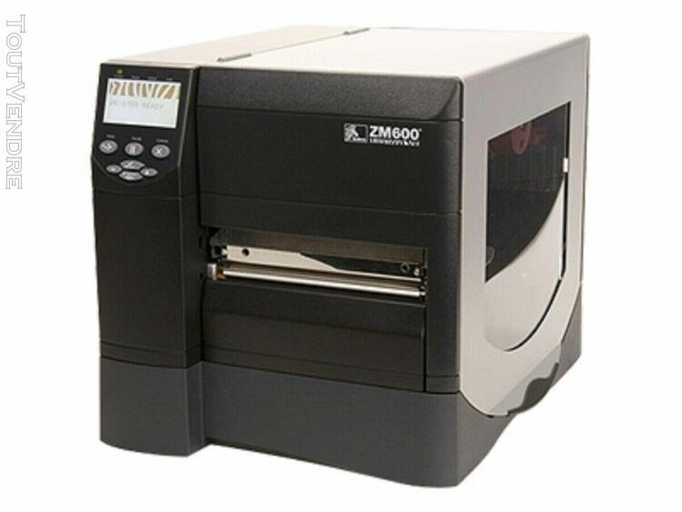 zebra zm600 zm600-201e-0100t usb network label printer lan r