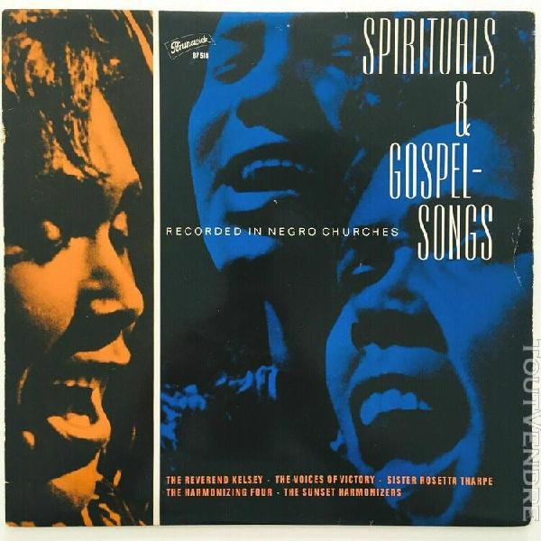 1964 various - spirituals & gospelsongs - label: