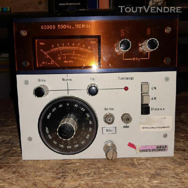 adret 6300b tiroir 300hz-110mhz